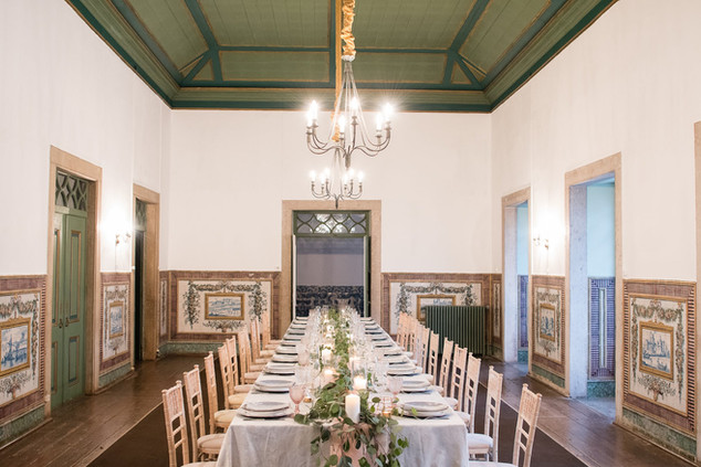 Noble Room for wedding and events at Quinta do Torneiro in Lisbon, Portugal