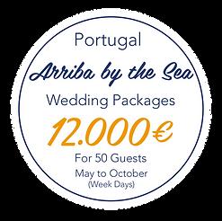 lowcoast week days wedding packges - May