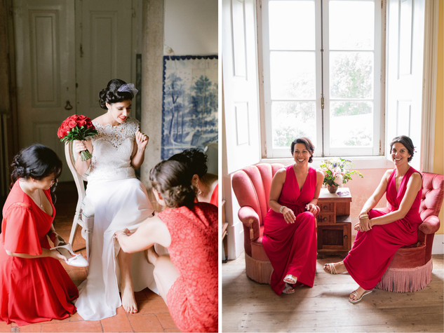 Quinta do Torneiro - Red Bridemaids