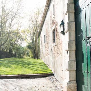 Entrance Garden for weddings at Quinta do Torneiro in Lisbon, Portugal