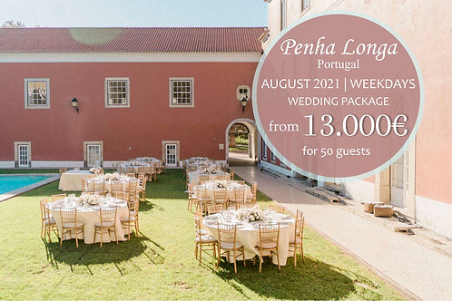 Penha Longa - Wedding Package August (Weekdays)