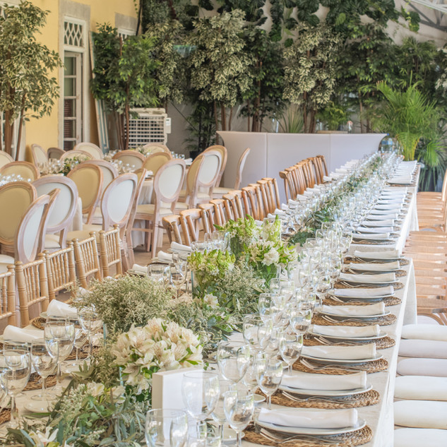 Reception at Quinta do Torneiro Large Destination Wedding Venue Portugal with Gardens and Rooms with Tiles and accomodation