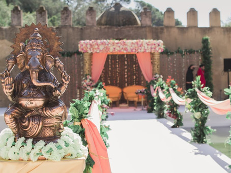 Indian Hindu Wedding Ceremony at Penha Longa Hotel