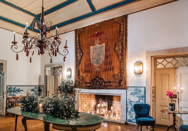 Sala do Brasão -  Quinta do Torneiro - Portugal