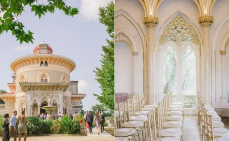 Wedding Ceremony at Monserrate Palace, in Portugal