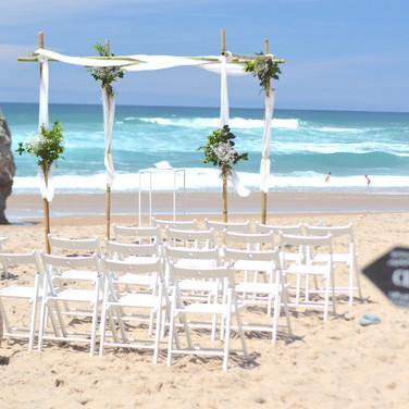 Adraga Beach Wedding Ceremony Portugal