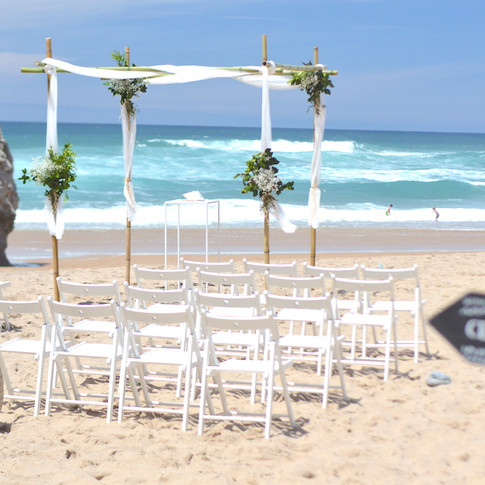 Adraga Beach Wedding Ceremony Portugal