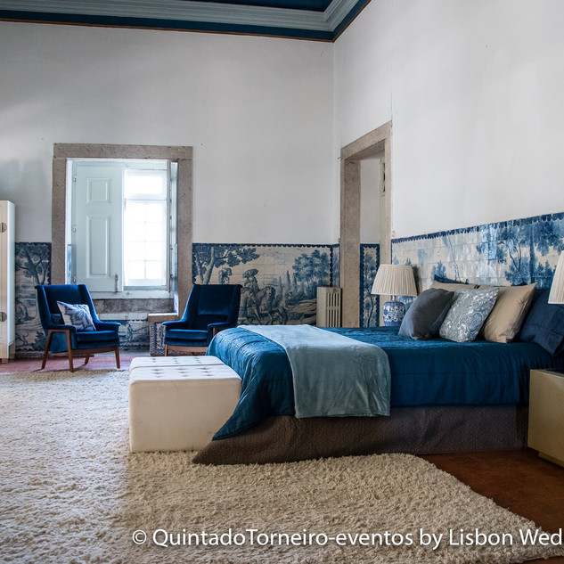 De Master Suite van Quinta do Torneiro, in Lissabon