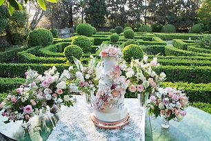 Bruiloft taart!