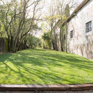 Entrance Garden for events at Quinta do Torneiro in Lisbon, Portugal