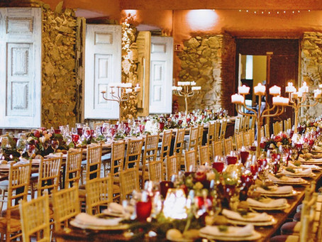 Christmas Themed Wedding at The Quinta My Vintage Wedding Portugal