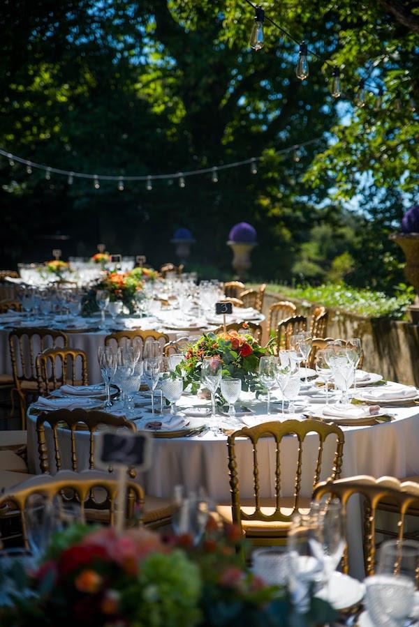 My Vintage Wedding Portugal Outdoor Wedding Reception