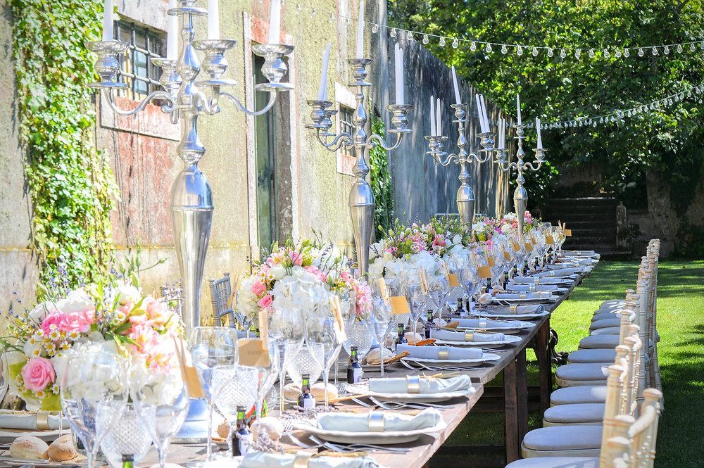 The Quinta Wedding Table Portugal