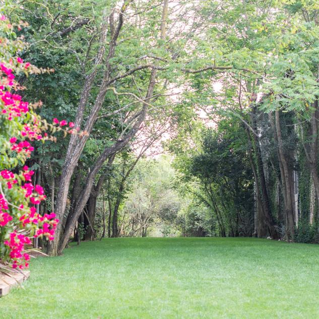 Jardim da Entrada da Quinta do Torneiro