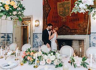 De Crest kamer prachtig aangekleed voor de shoot. Quinta do Torneiro, Lissabn