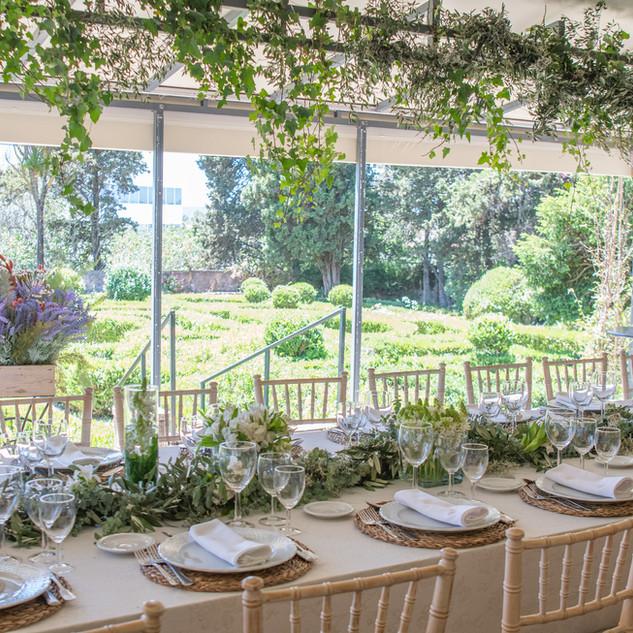 Casamento no Terraço Coberto da Quinta d
