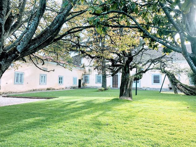 Courtyard Tuin voor evenementen bij Quinta do Torneiro in Lissabon, Portugal