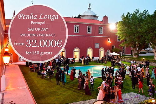 Penha Longa Wedding Package for 150 Guests