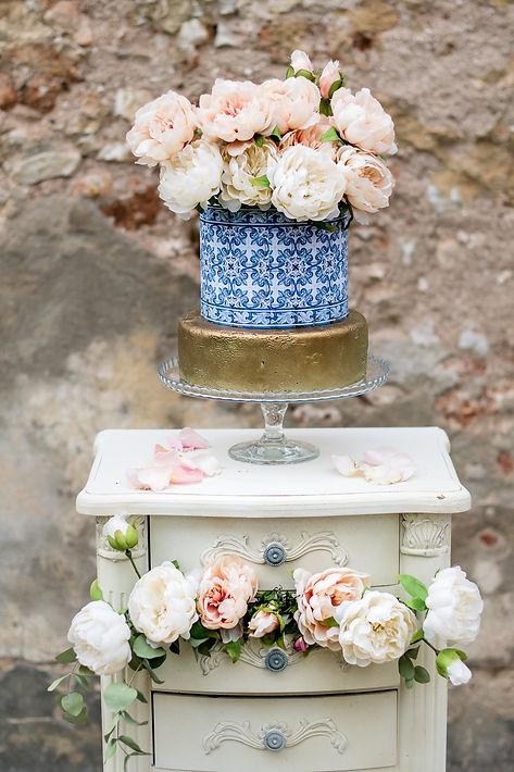 Bruiloft cake door Lisbon Wedding Planner Quinta do Torneiro in Portugal