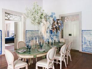 Casamento intimo na sala das caravelas na Quinta do Torneiro
