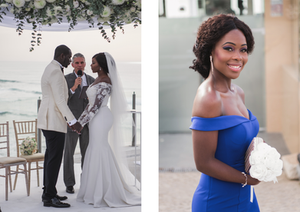 Arriba by the Sea welcomed an elegant a Nigerian Wedding in Portugal. Arriba by the Sea is a wedding venue with amzing views to the Beach. Destination Nigerian Weddings are becoming more and more popular snf
