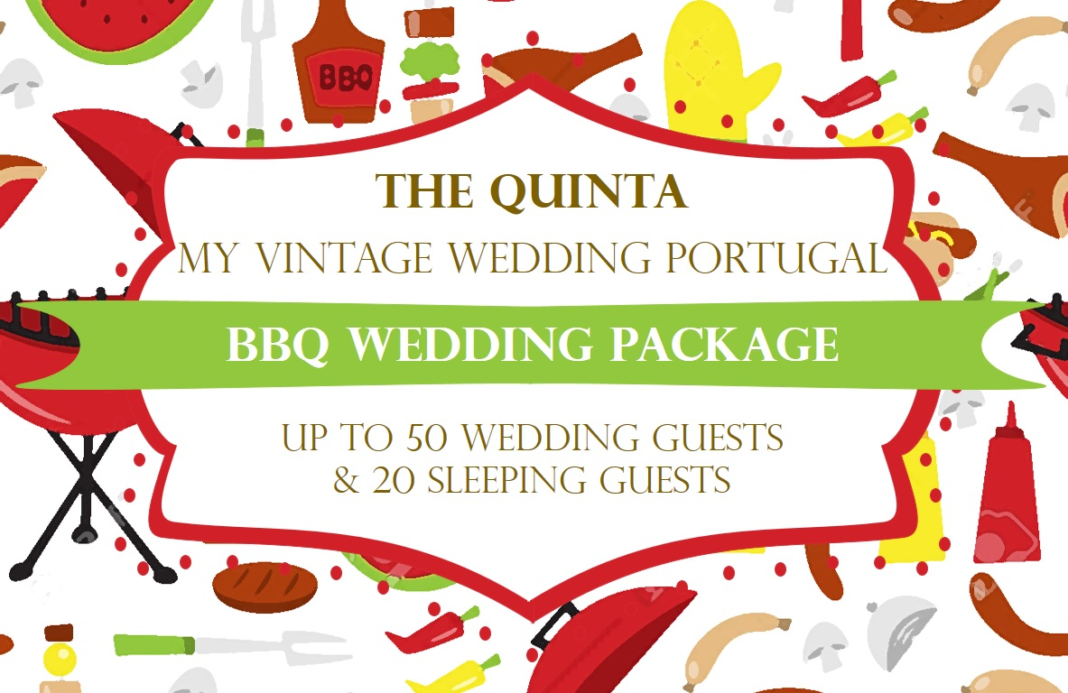 Barbeque Wedding in Sintra at the The Quintra My Vintage Wedding ...