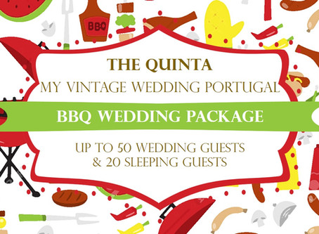 Barbeque Wedding in Sintra at the The Quinta My Vintage Wedding Portugal
