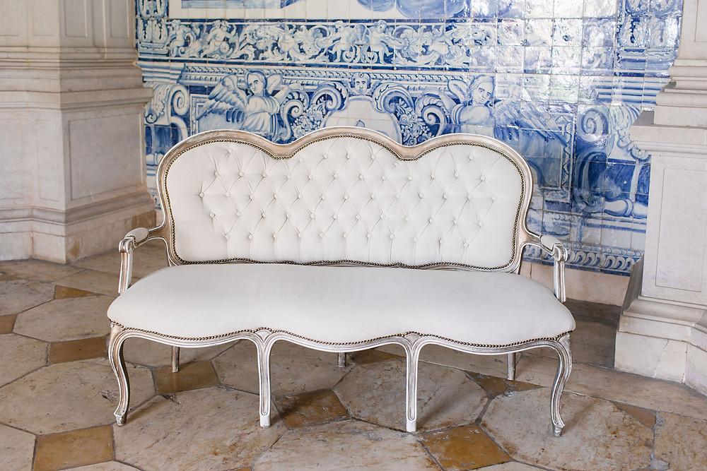 Cadeirao Branco Duplo