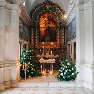 Chapel Quinta do Torneiro Large Destination Wedding Venue Portugal with Gardens and Rooms with Tiles and accomodation