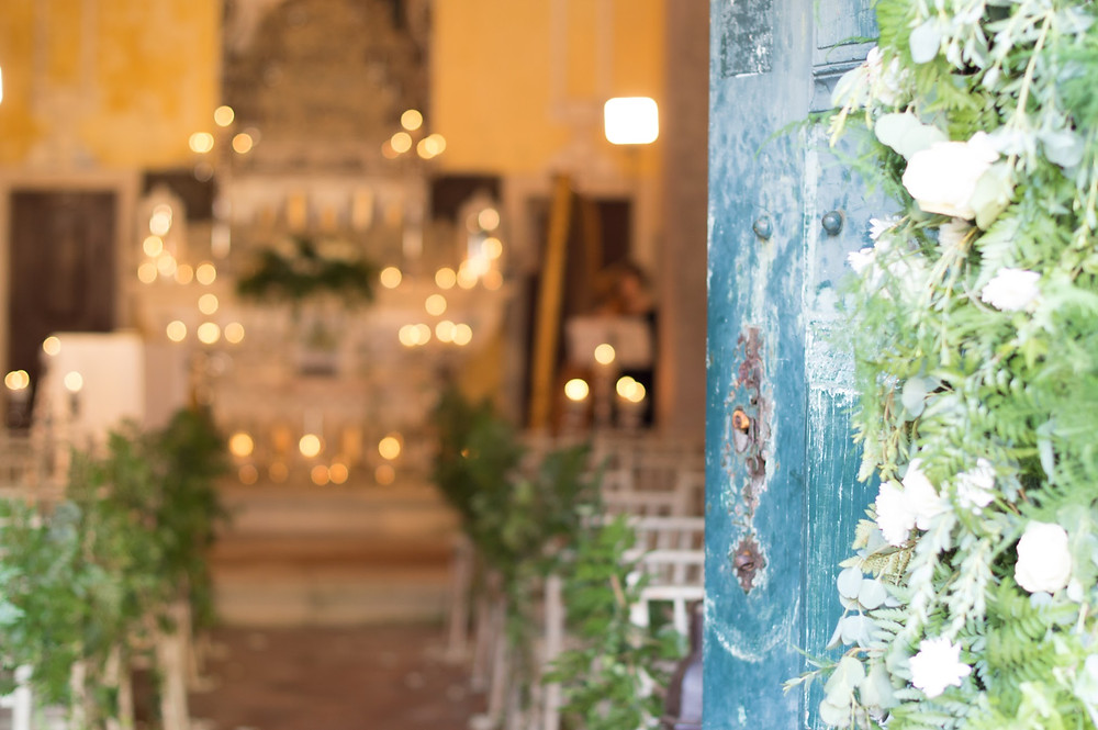 wedding portugal, greenery church portugal, lisbon weeding planner