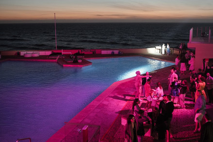 Arriba by the Sea Disco at Swimming Pool