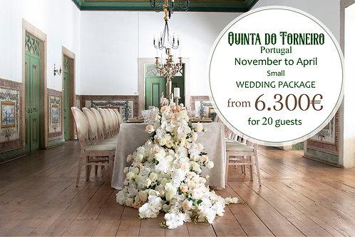 Quinta do Torneiro - Small Wedding Package