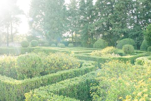 Franse tuin van Quinta do Torneiro in Lissabon, Portugal