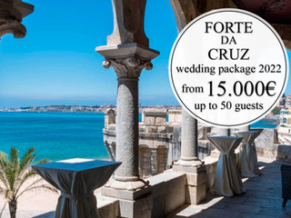 Forte da Cruz Wedding Package 2022