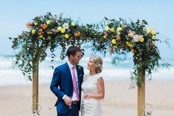 Beach wedding in Portugal by Lisbon wedding planner