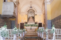 Catholic wedding in Lisbon, Portugal