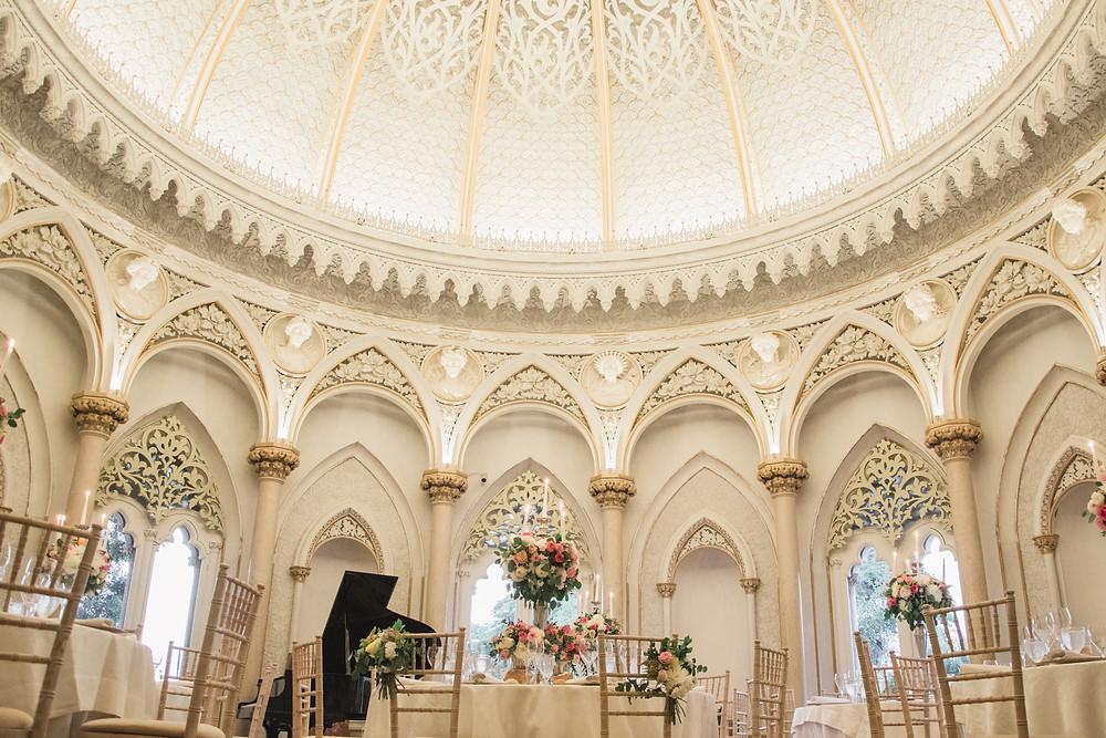 Piano room Monserrate Portugal Wedding Portugal