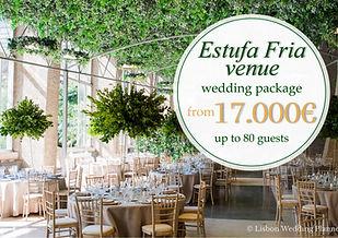 Estufa Fria Wedding Package