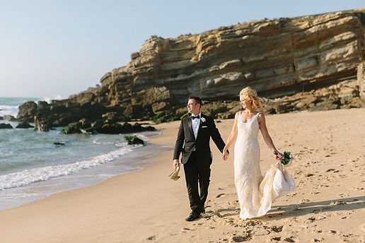 Beach Wedding ceremony in Portugal