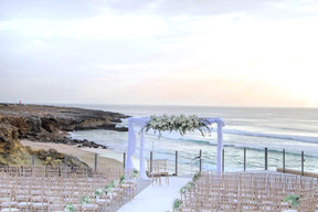 Balcony Ceremony by the sea