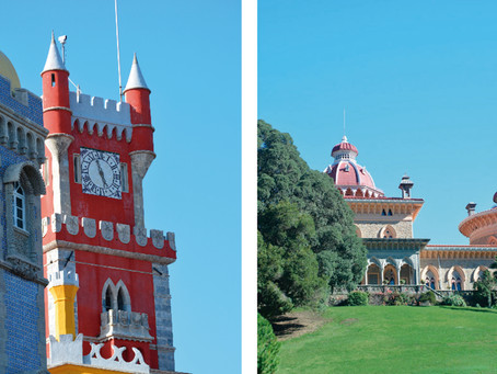 Combine Pena Palace and Monserrate Castle in your Luxury Destination Wedding in Portugal