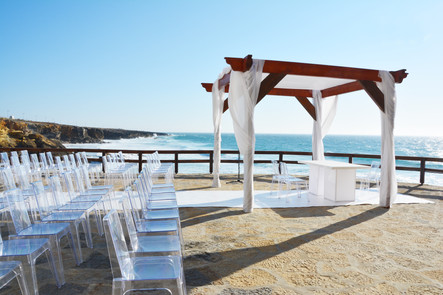 Top Balcony Ceremony by the sea