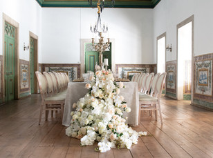 Classical wedding table at Quinta do Tor