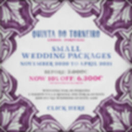 Small Wedding Package 2021