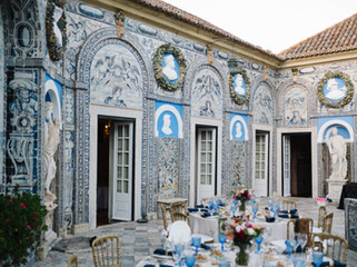 Historical Blue tiled Palace - Marques da Fronteira