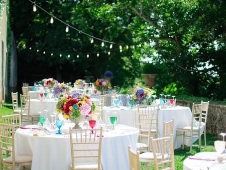 Savor the incredible Experience of an Alfresco Reception at the Quinta