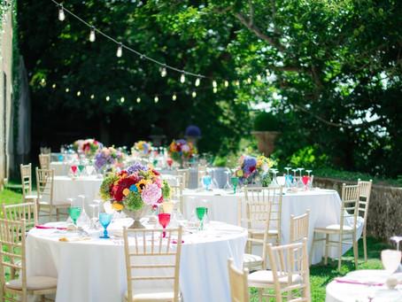Savor the incredible Experience of an Alfresco Reception at the Quinta