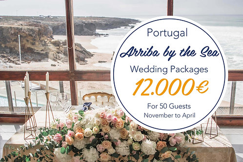 Arriba by the Sea - November to April 50 Guests