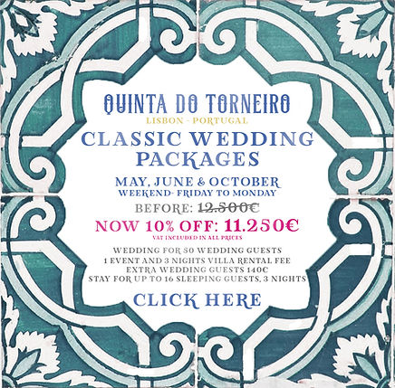 Wedding Packages Portugal 2020