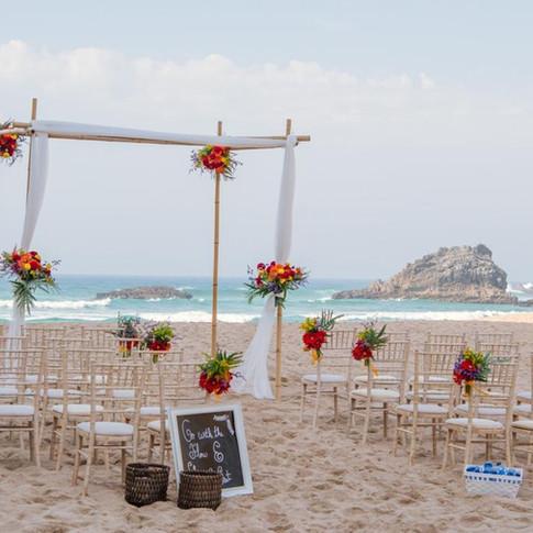 Casamento na praia por Lisbon Wedding Planner